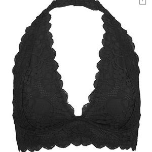 Free People Galloon Lace Bralette Soft Bra